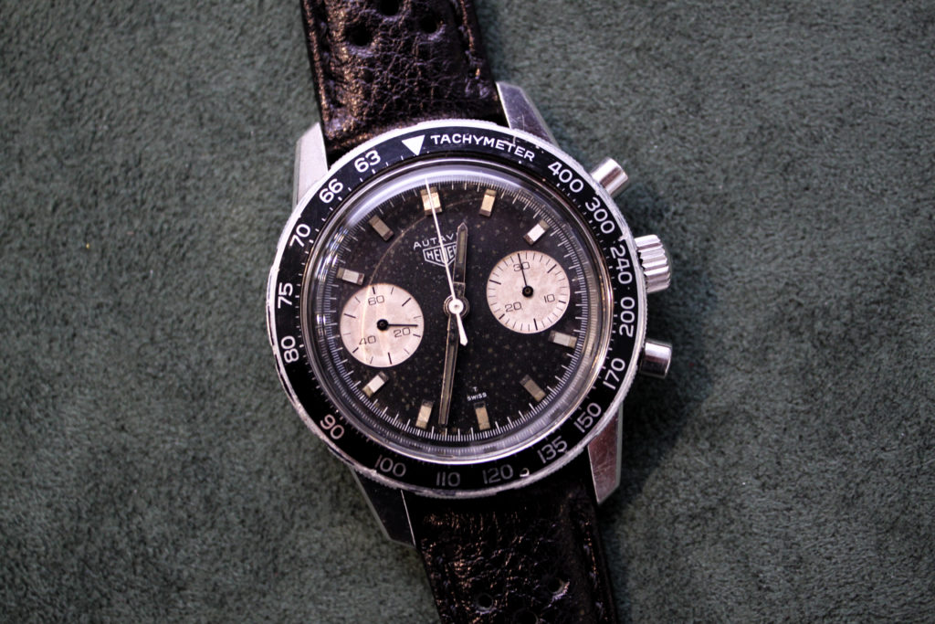 Vintage Heuer Autavia WatchTime Fortuna Auction Important Watches
